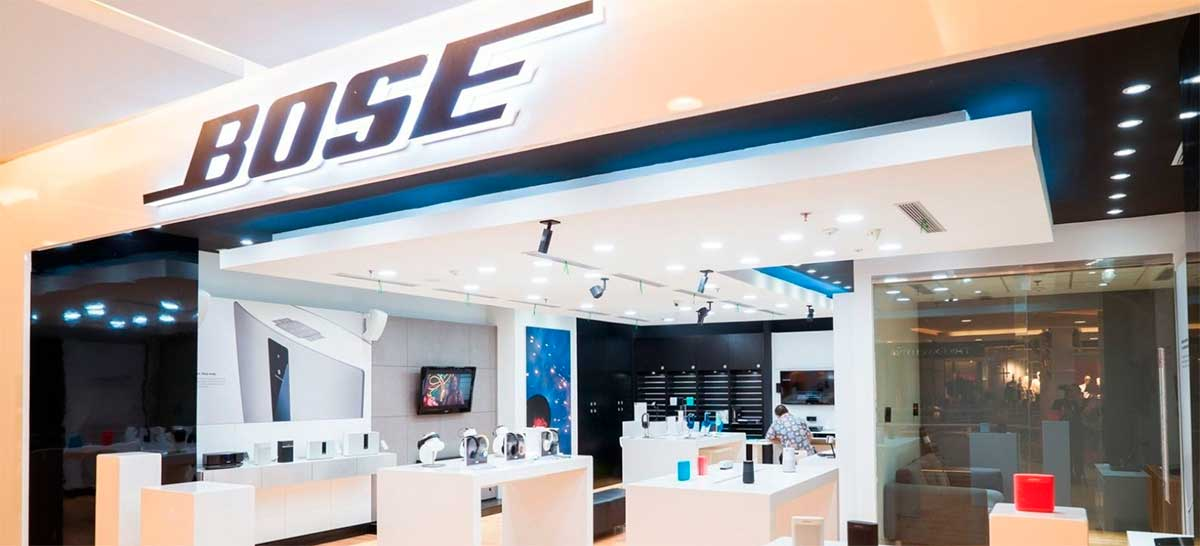 Bose está fechando várias lojas ao redor do mundo: veja o motivo