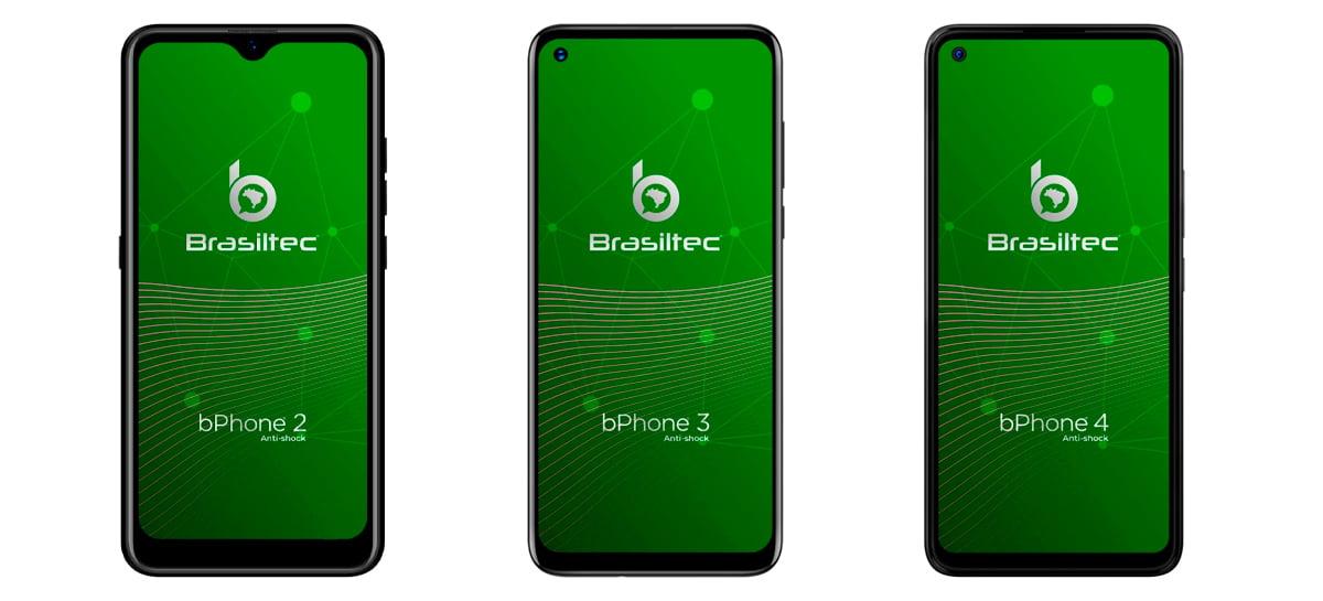 Empresa brasileira Brasiltec anuncia chegada de 3 aparelhos: bPhone 2, 3 e 4