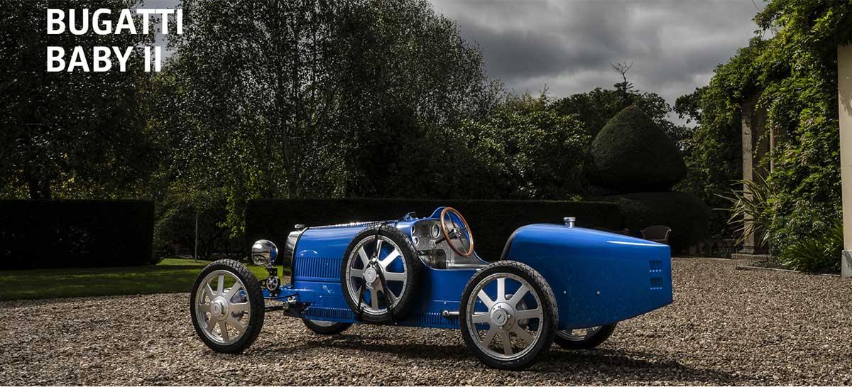 Bugatti lança carro elétrico para adolescentes Bugatti Baby II de R$ 183 mil