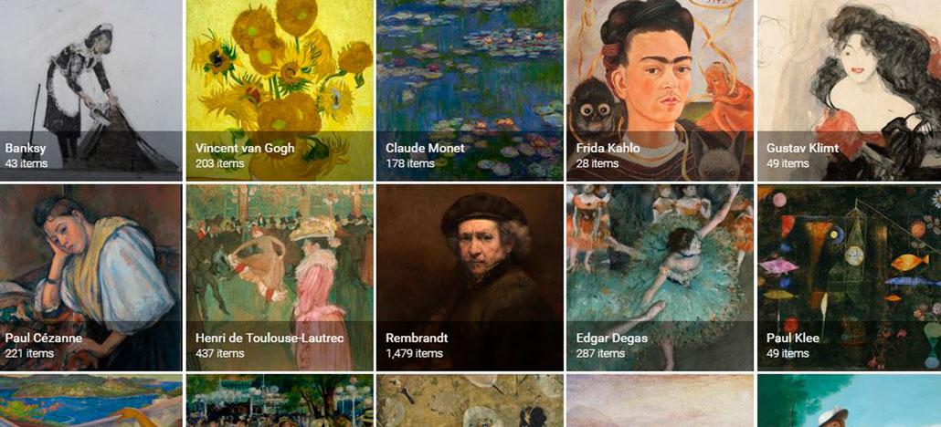 Google usa inteligência artificial para mostrar se existe alguma obra de arte parecida com você