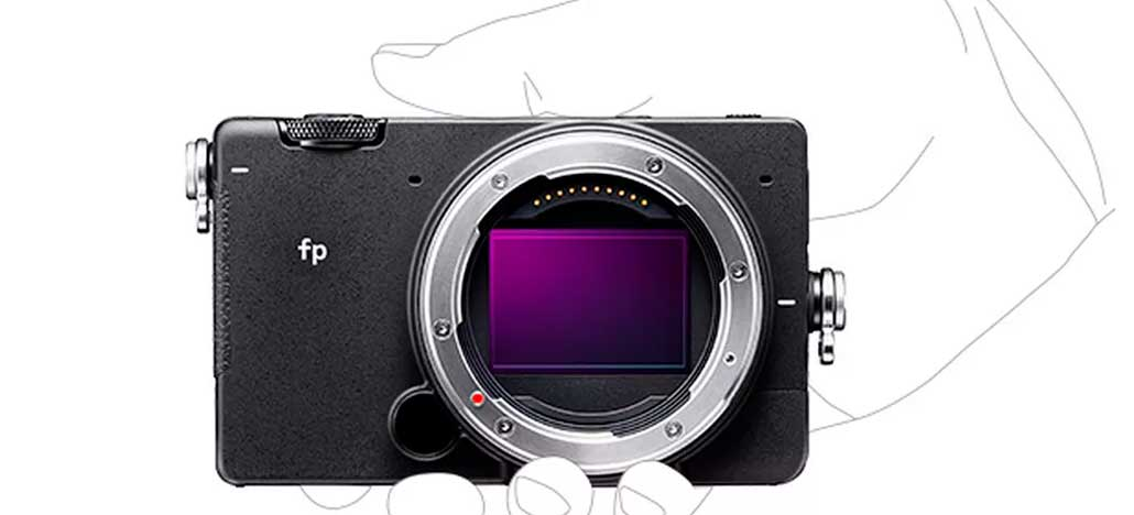 Câmera mirrorless Sigma fp está disponível em pré-venda por U$1900