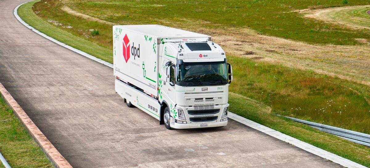 Caminhão elétrico bate recorde com 1.099 km de autonomia com carga única