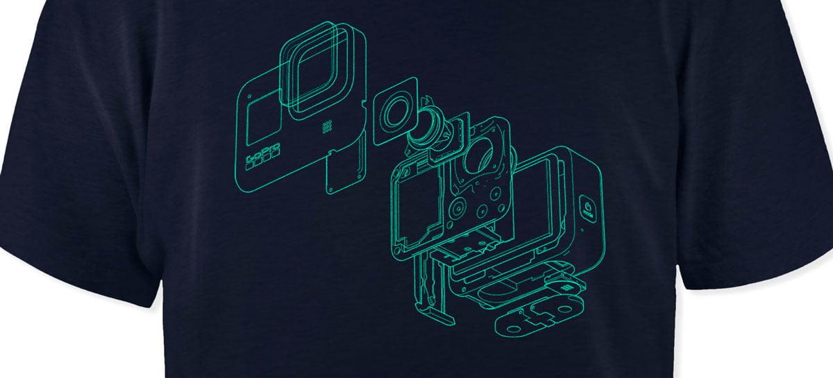 GoPro lança nova linha de roupas e acessórios da marca