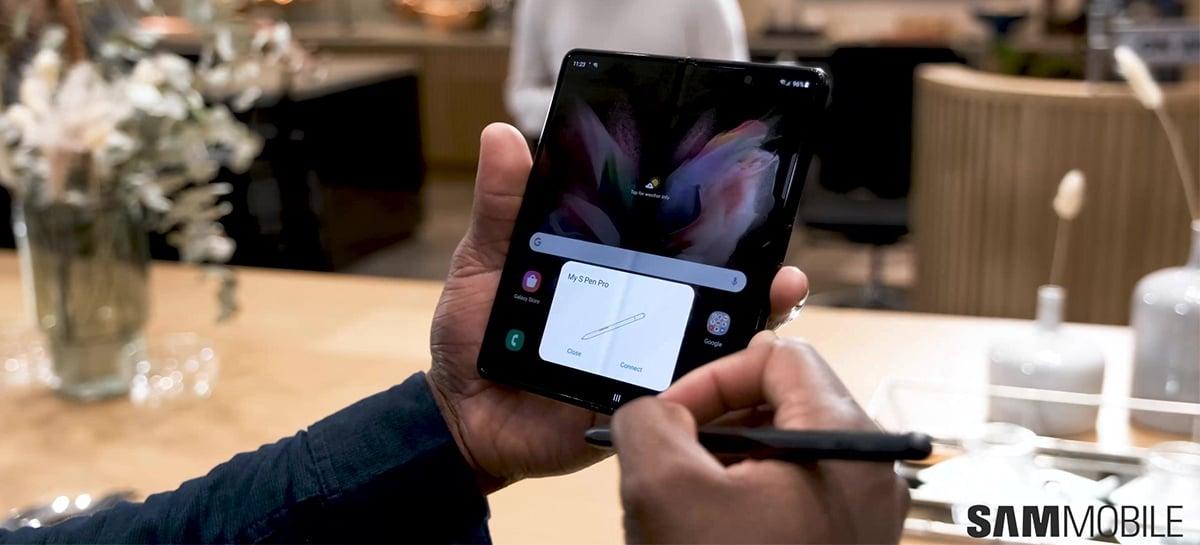 S Pen Pro: conheça a nova caneta stylus da Samsung criada para o Galaxy Z Fold 3