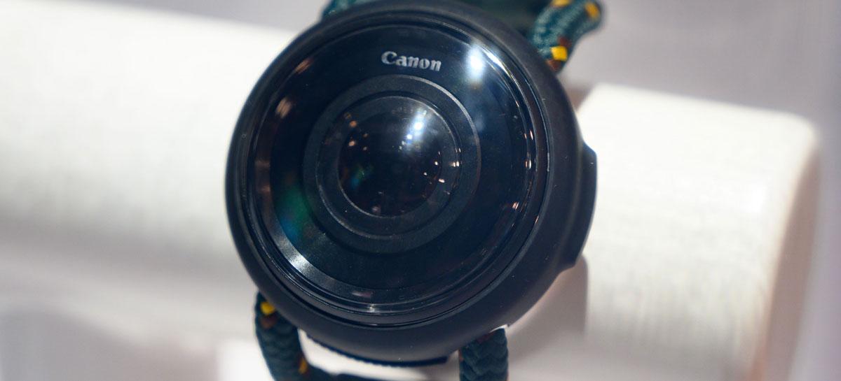 Canon apresenta câmera em forma de relógio e outros produtos conceituais na CES 2020