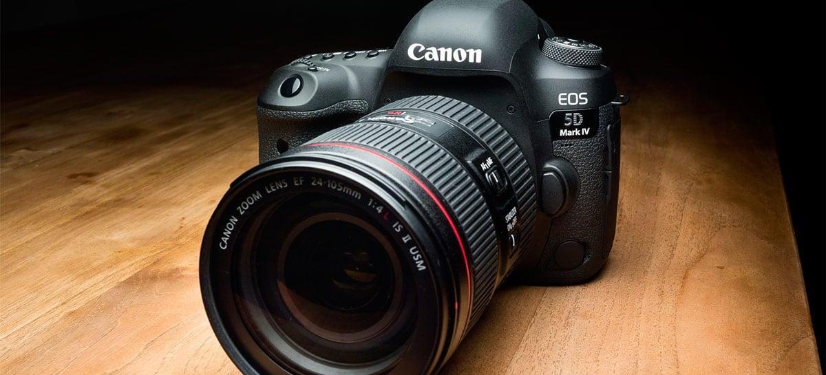 Executivo da Canon prevê menos de 10 milhões de câmeras vendidas no futuro
