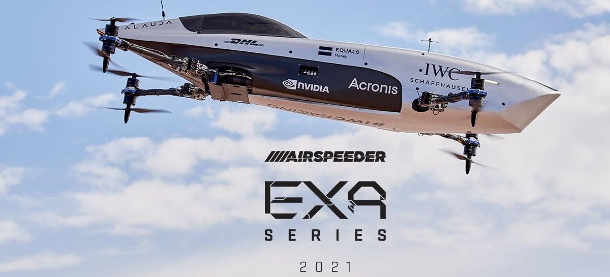 Airspeeder MK3, carro elétrico e voador de corrida, completa primeira rodada de testes