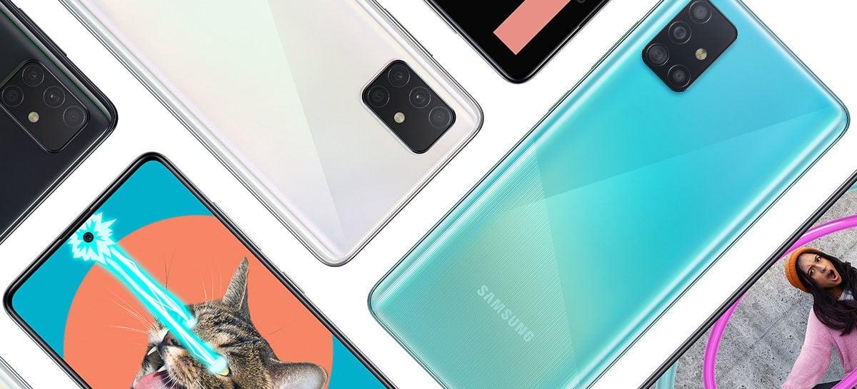 Samsung Galaxy A51 e Galaxy A21s começam a receber One UI 3.1 com Android 11