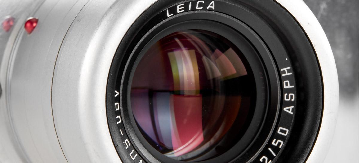 Câmera da Leica projetada por ex-diretor de design da Apple será leiloada