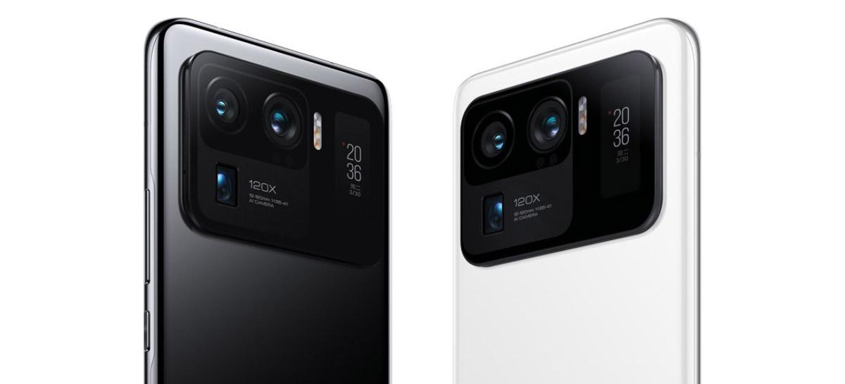 Xiaomi Mi 11 Ultra chega com inovador sistema de câmeras, duas telas e muito mais
