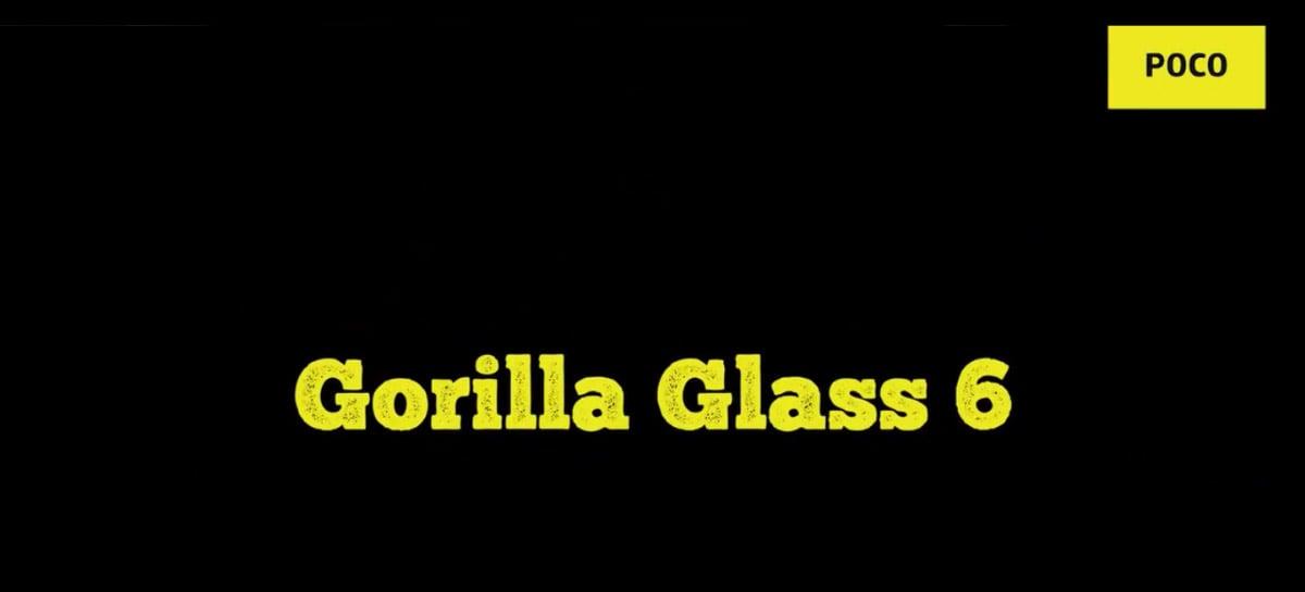POCO X3 Pro será lançado com a proteção Gorilla Glass 6