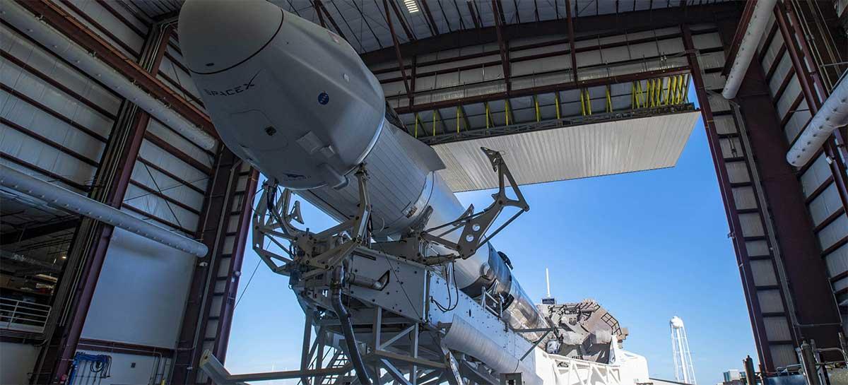 SpaceX lança nave Cargo Dragon em missão de suprimentos pela NASA