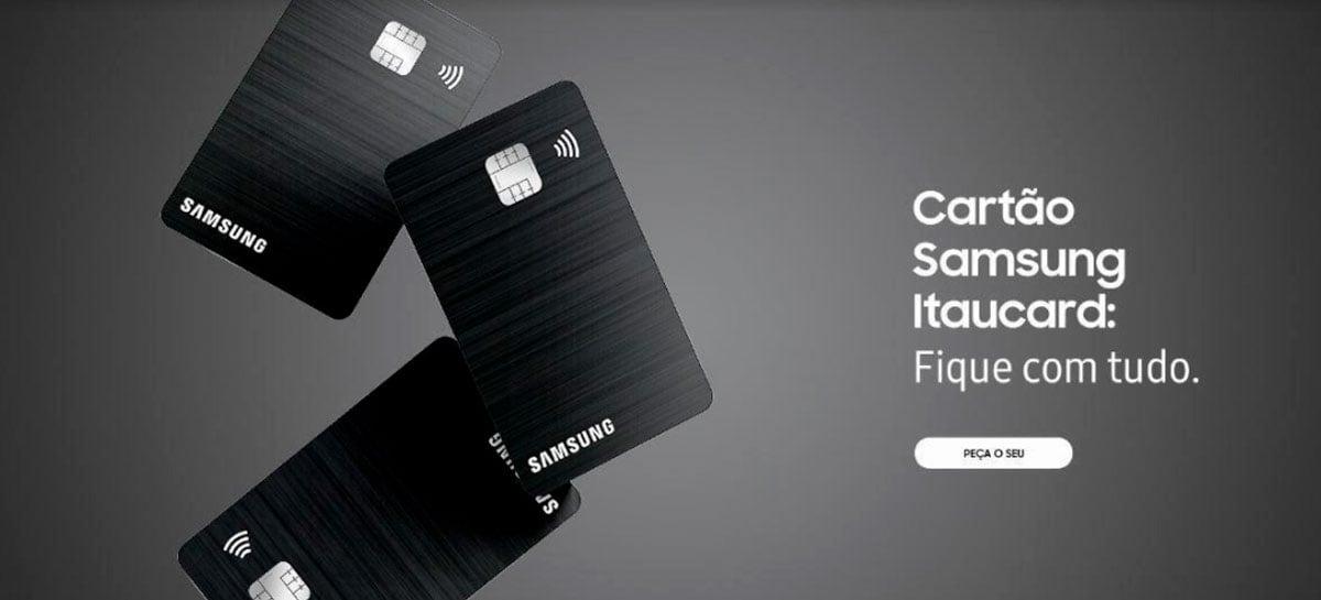 Samsung anuncia cartão de crédito em parceria com Itau e Visa