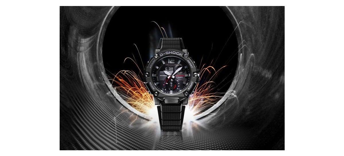 Casio anuncia novo relógio da linha G-Steel com núcleo de carbono para proteção