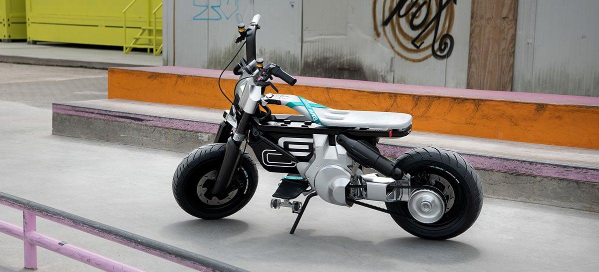 CE 02: conheça a nova moto elétrica da BMW para jovens