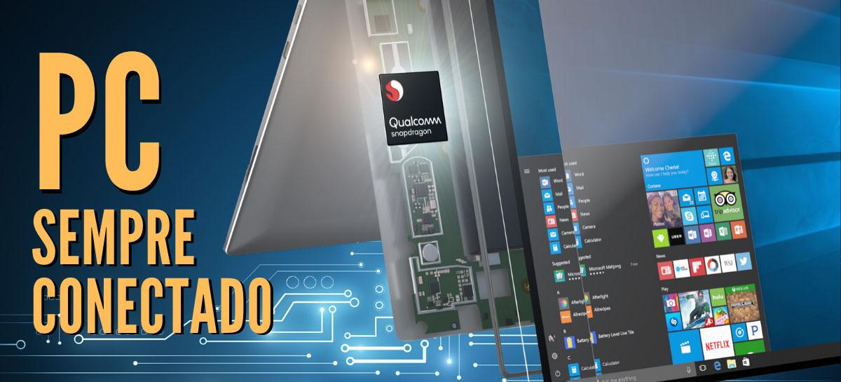 Qualcomm e Microsoft se unem por PCs Sempre Conectados, trazendo novo desafio para a Intel