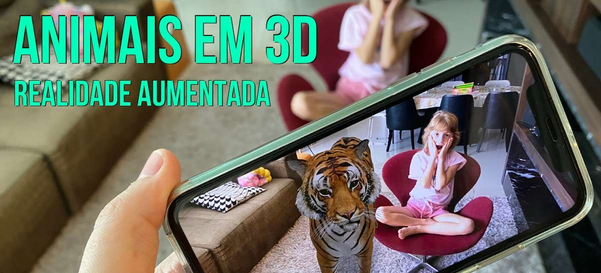 Animal 3D: o Google transforma sua casa em um zoológico virtual