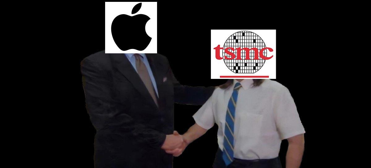 Apple encomenda primeira leva de chips de 3 nm da TSMC [RUMOR]