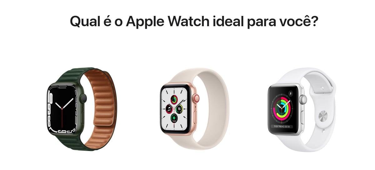 Preços do Apple Watch Series 7 no Brasil são confirmados: a partir de R$ 4.769
