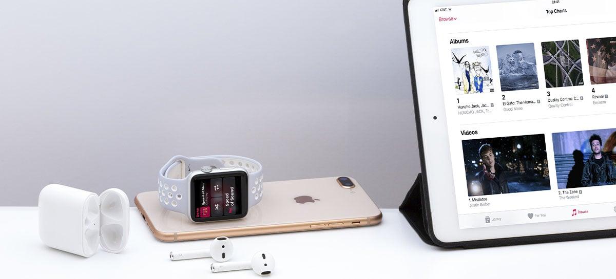 Apple Music terá música em alta fidelidade com Dolby Atmos sem custo adicional