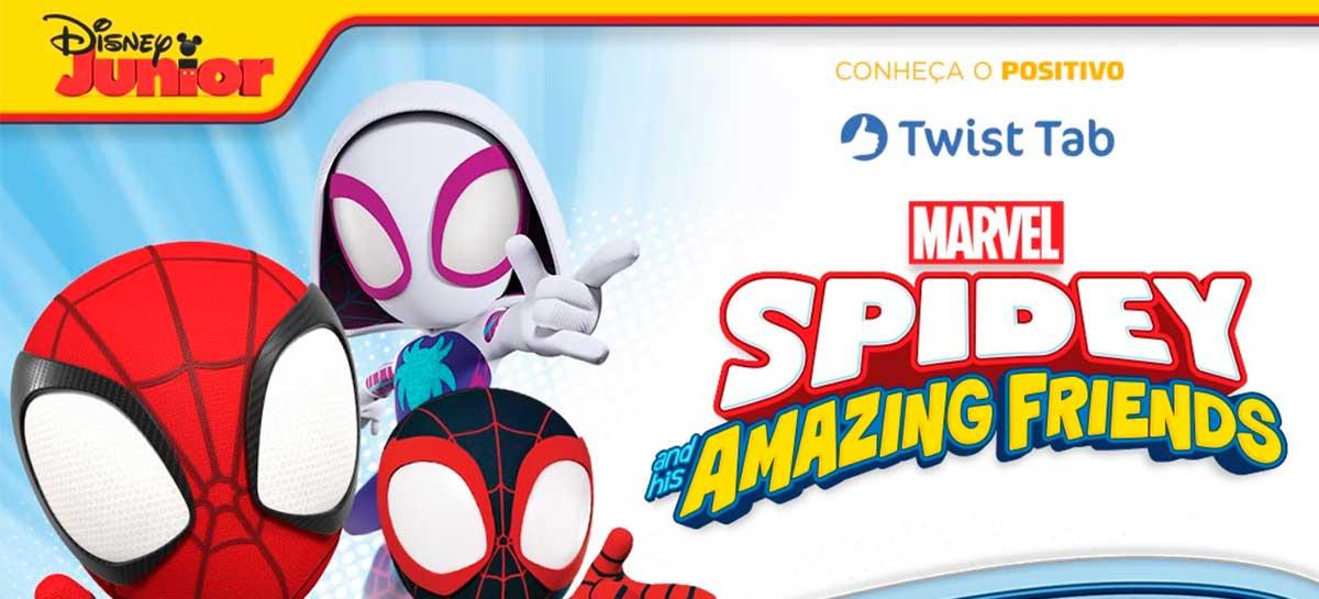 Positivo lança tablet personalizado do Homem-Aranha para crianças