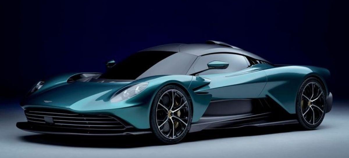 Aston Martin anuncia o novo híbrido Valhalla, com 950 cavalos de potência
