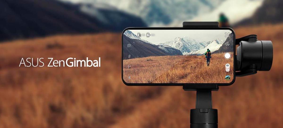 ASUS lança ZenGimbal para smartphones por US$160