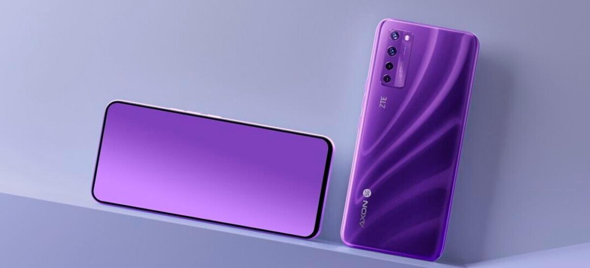 ZTE Axon 20 5G é o primeiro smartphone com câmera sob a tela