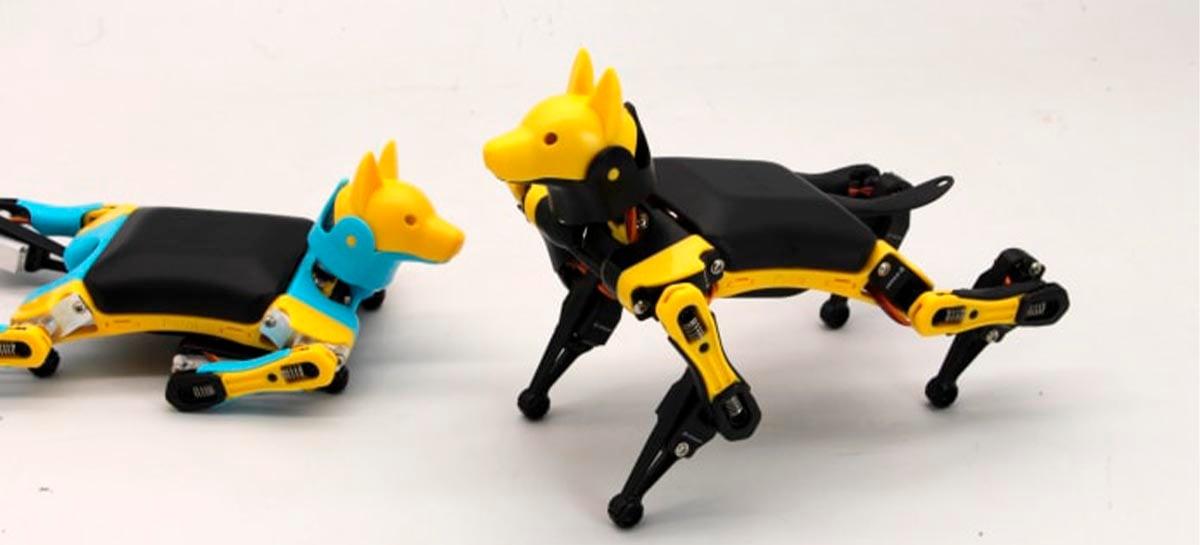 Cão-robô Bittle arrecada mais de 3 milhões de reais