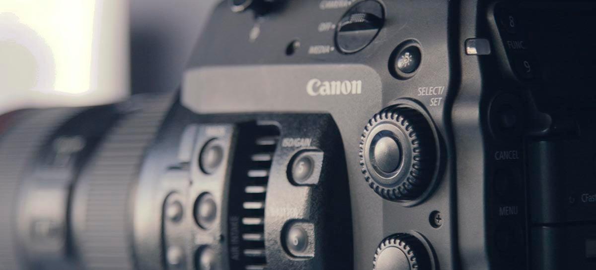 Canon divulga relatório de vendas do ano fiscal de 2020