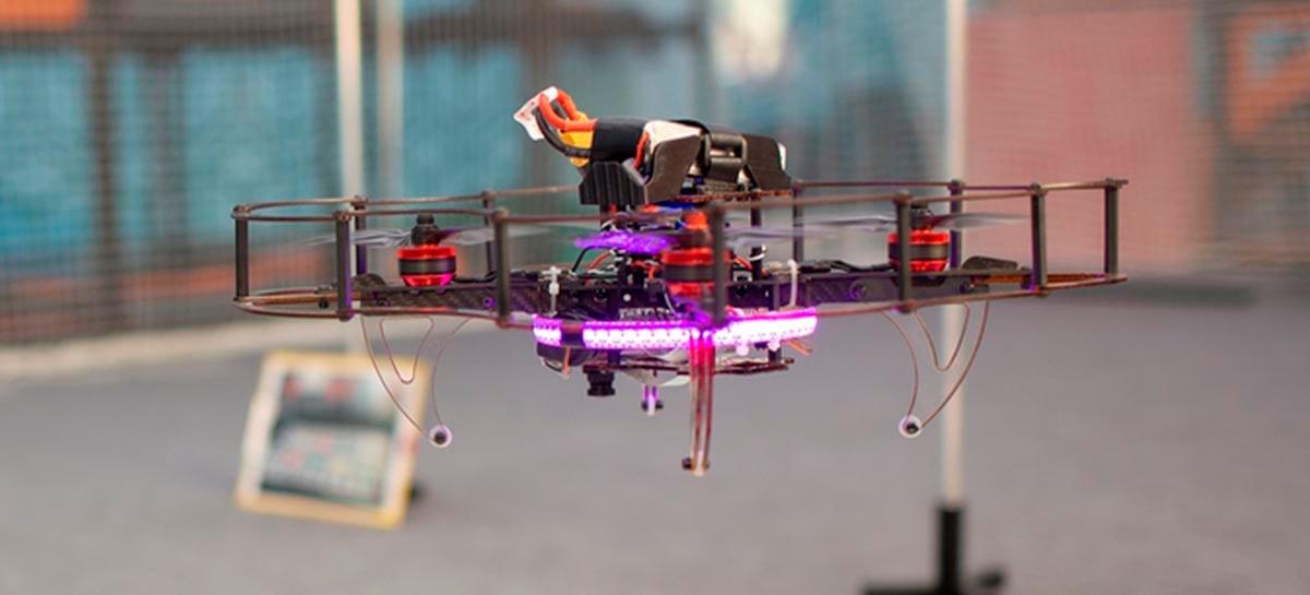 Kit completo permite montar drone personalizado com Raspberry PI 4