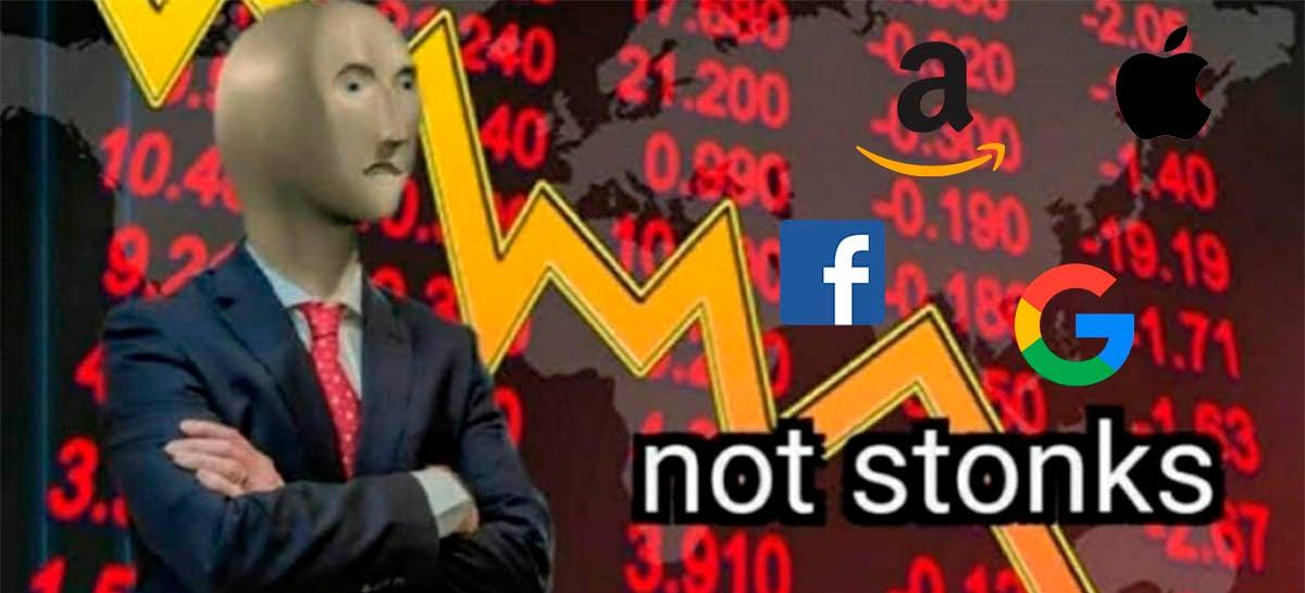 Congresso dos EUA acusa Facebook, Apple, Amazon e Google de abuso de mercado