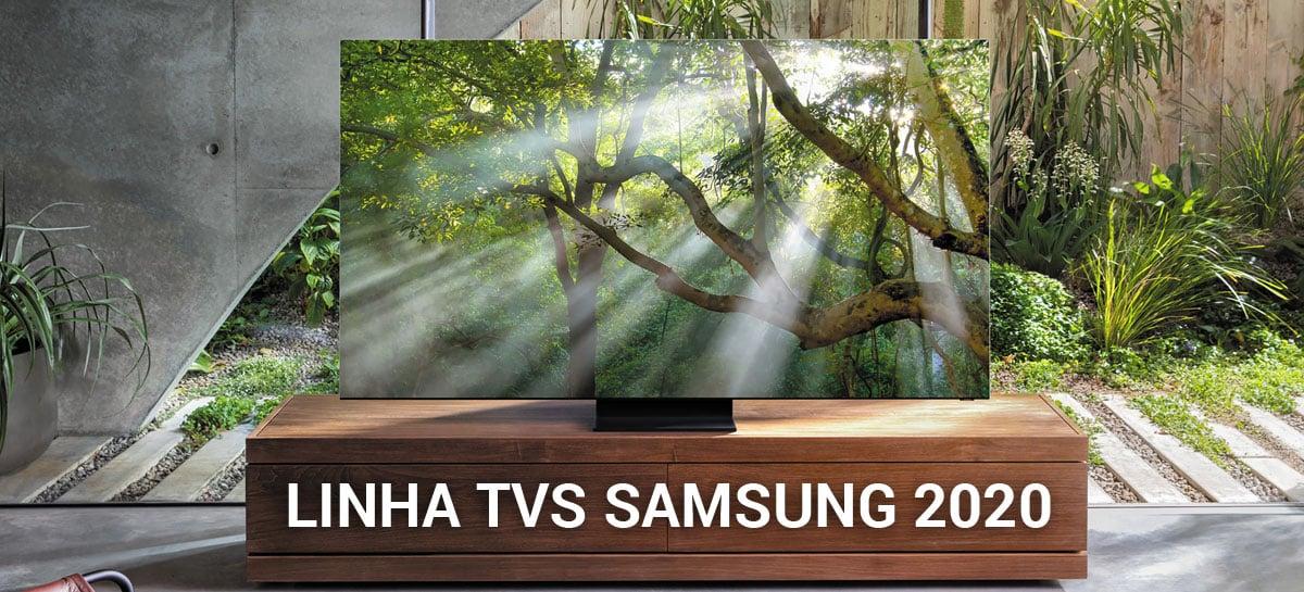 Samsung lança linha de TVs 2020: evolução do 8K e nova linha 4K são destaques