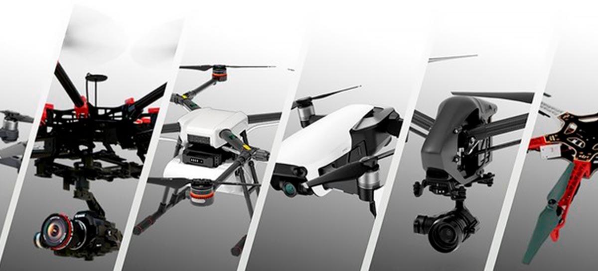 Usuário do Twitter OsitaLV publica foto do drone DJI FPV