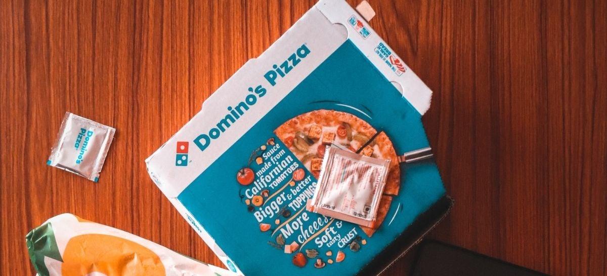 Domino's dará pizza de brinde para quem já se vacinou