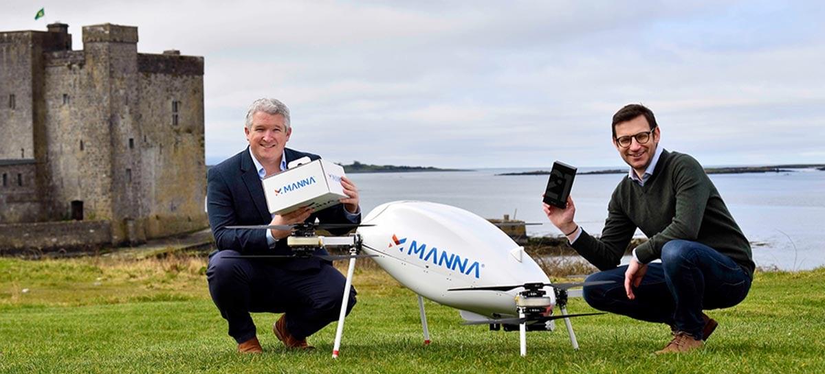 Samsung vai entregar produtos da linha Galaxy com drones na Irlanda
