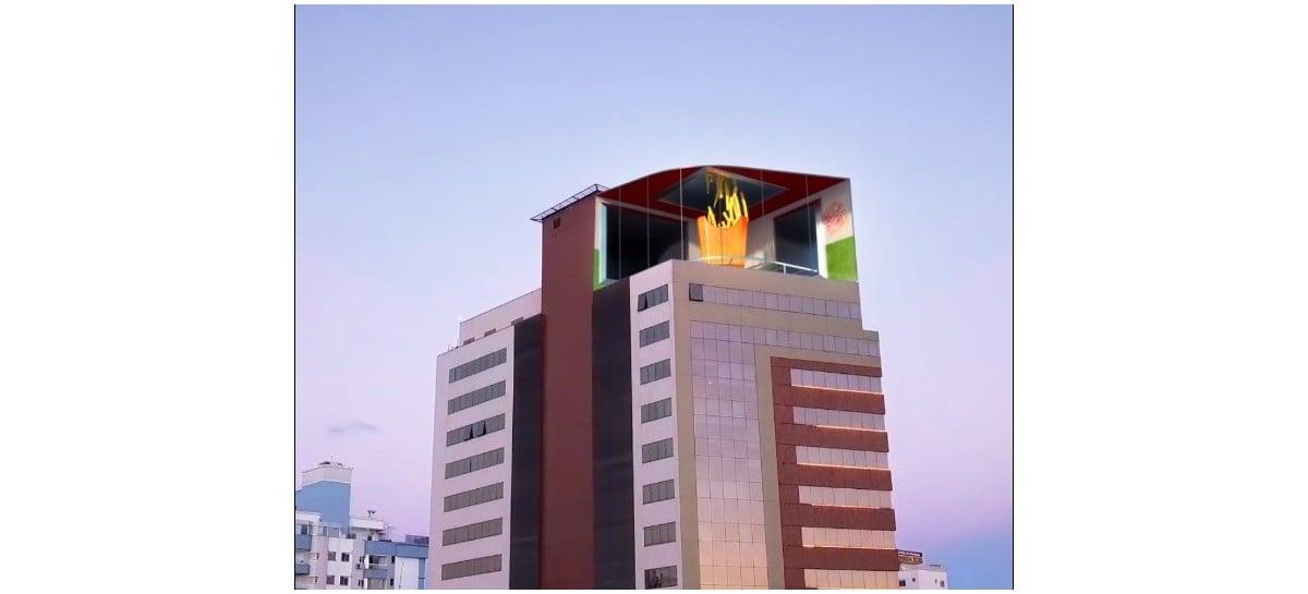 Floripa Square: Florianópolis terá maior tela LED em cobertura da América Latina