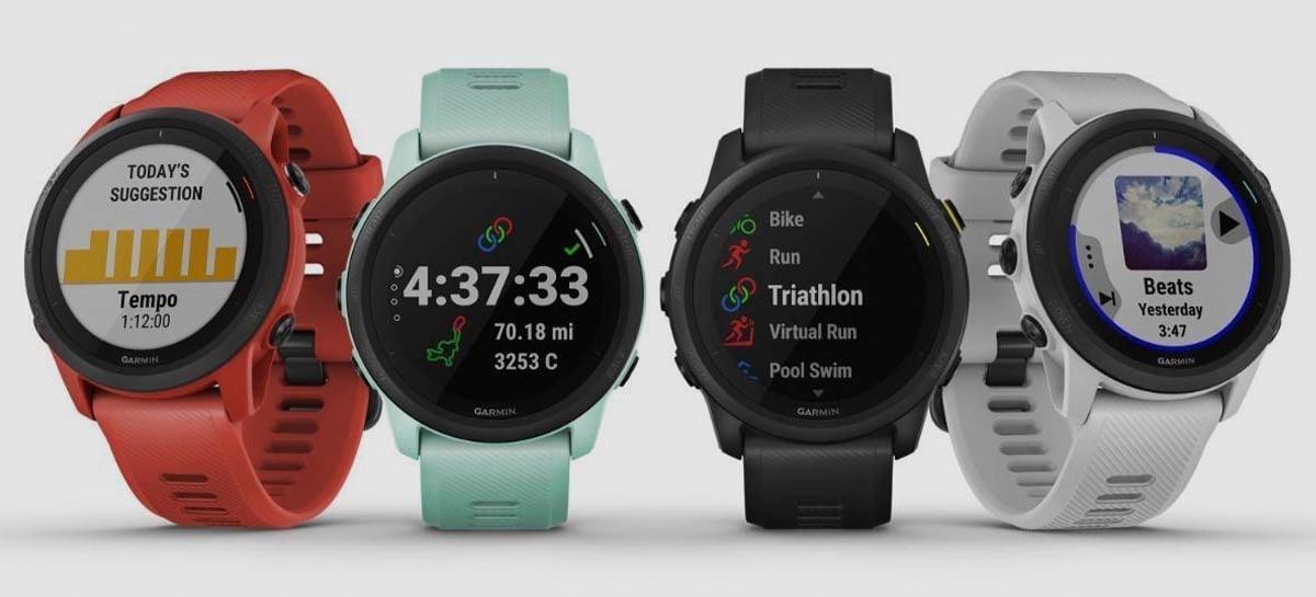 Garmin lança Forerunner 745, o mais leve smartwatch de corrida da empresa