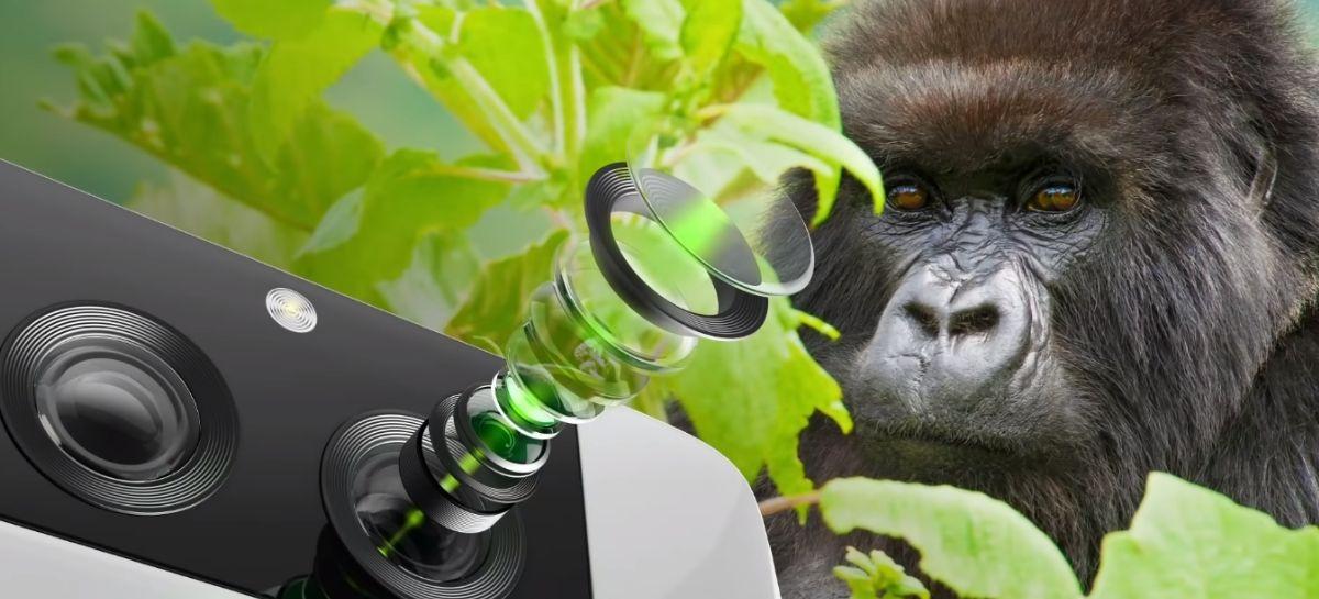 Samsung será a primeira a usar novos Gorilla Glass para proteger câmeras