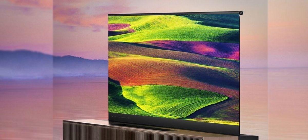 HiSense lança primeira TV a laser com tela enrolável do mundo