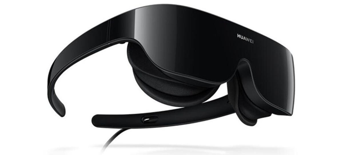 Huawei anuncia headset VR 6-DoF que se conecta ao telefone