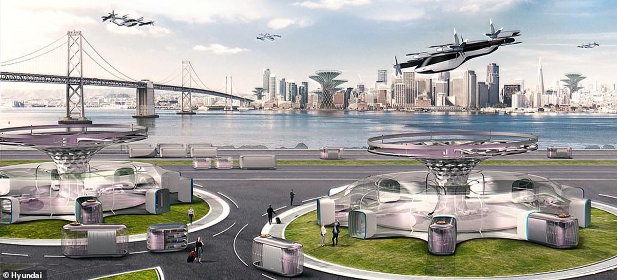 Carros voadores serão realidade até 2030, diz chefe da Hyundai Europa