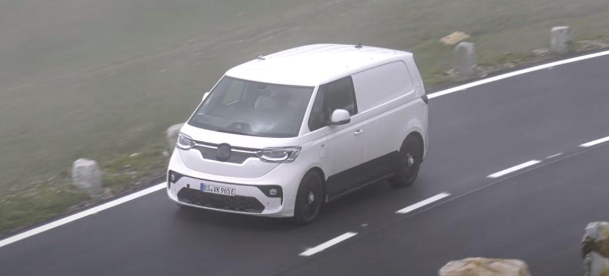 Veja o novo possível visual da Kombi elétrica da Volkswagen