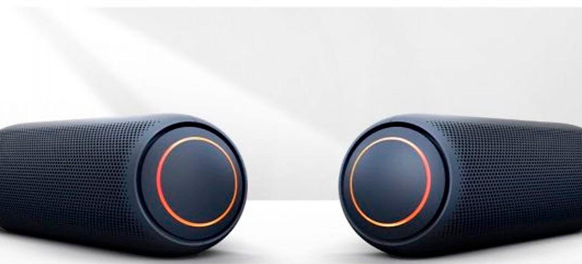 LG anuncia nova linha de caixas de som bluetooth XBOOM GO PL