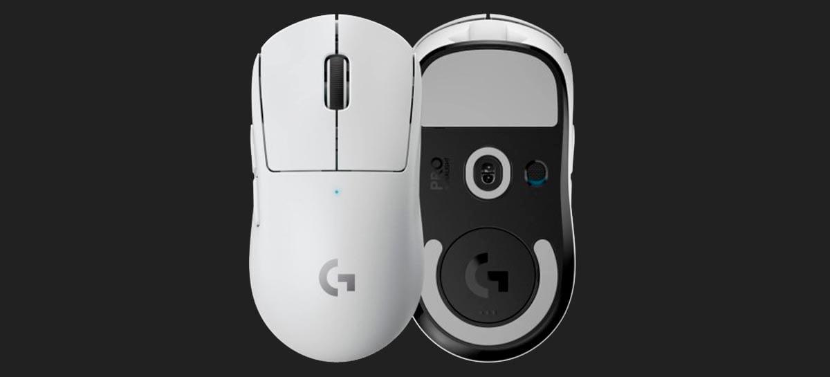 Logitech anuncia o Pro X Superlight, mouse gamer mais leve da marca
