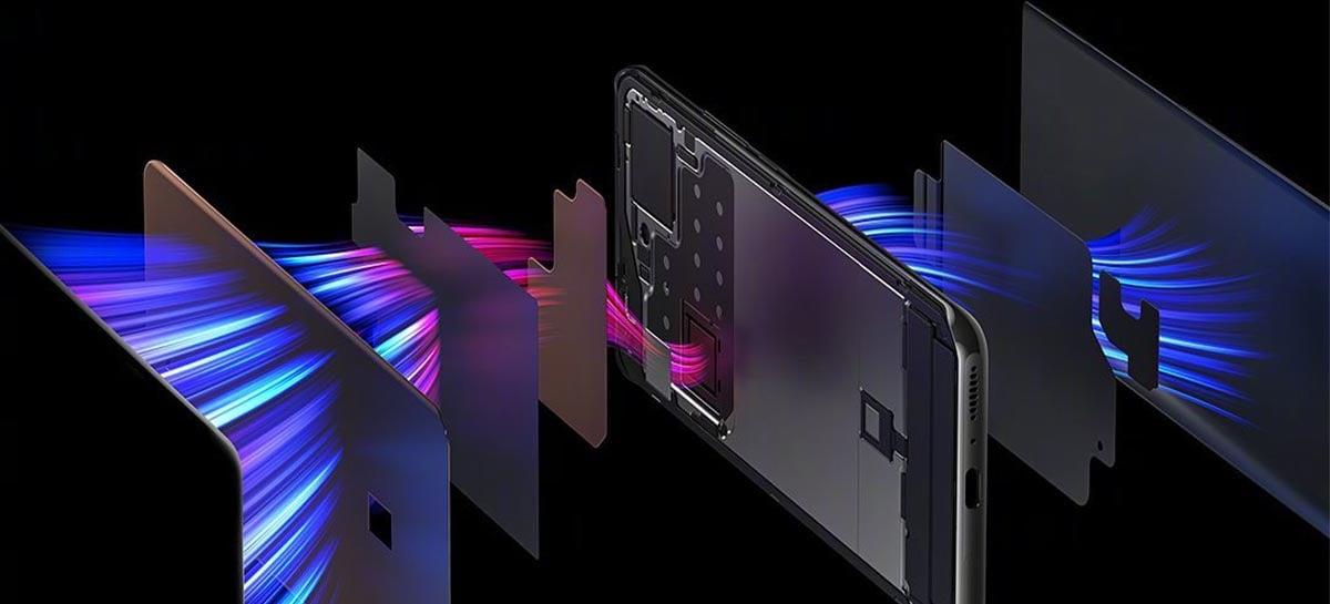 Xiaomi Mi 11 Ultra terá resfriamento com mudança completa de estado físico