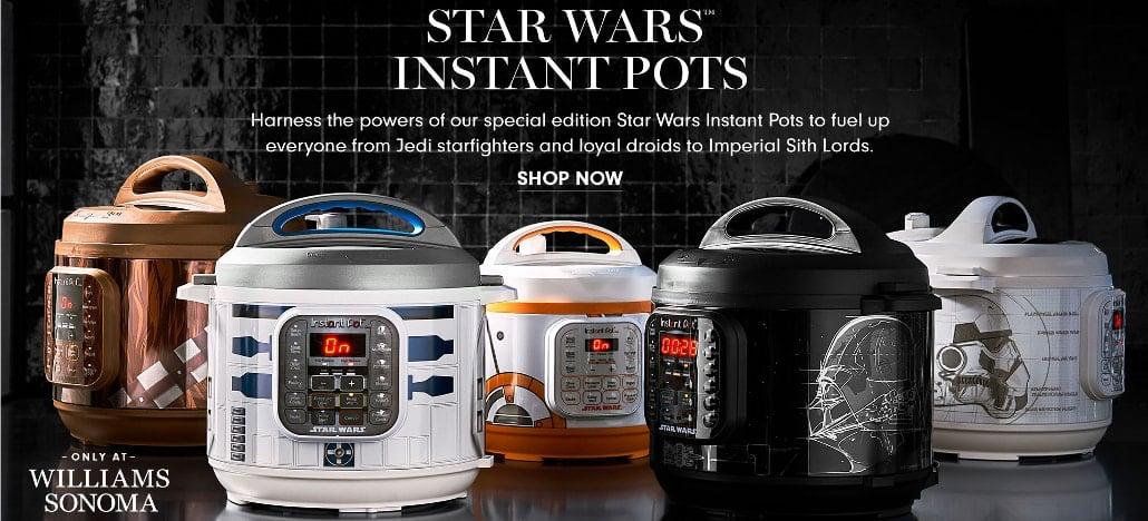Panela de pressão elétrica com temas do Star Wars serão lançadas ainda neste ano