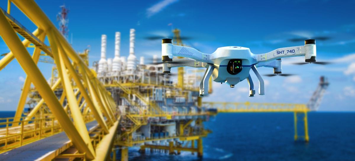 Porto da França é pioneiro na utilização de drones autônomos na segurança do local