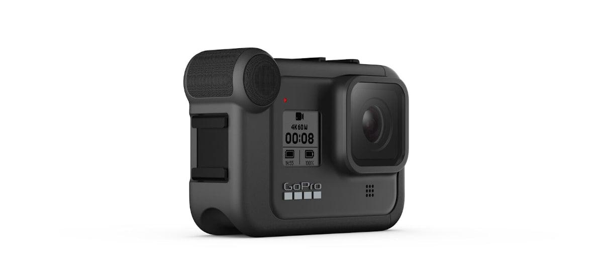O Media Mod com seu microfone para a GoPro Hero 8 Black é ideal para vloggers