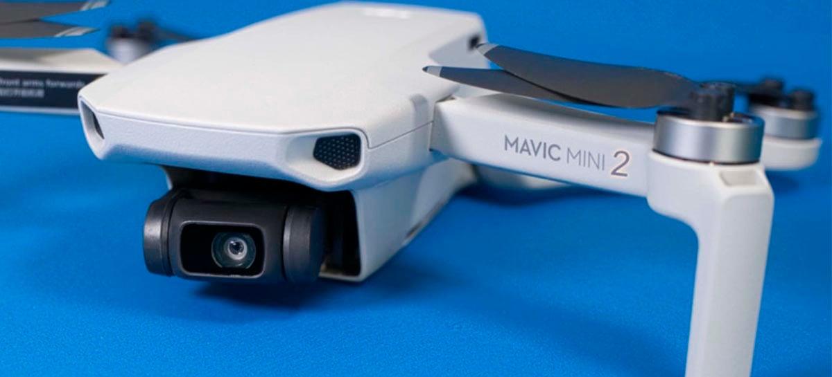 DJI Mini 2 tem suporte a DNG/RAW e filma em 4K 100Mbps - Veja especificações